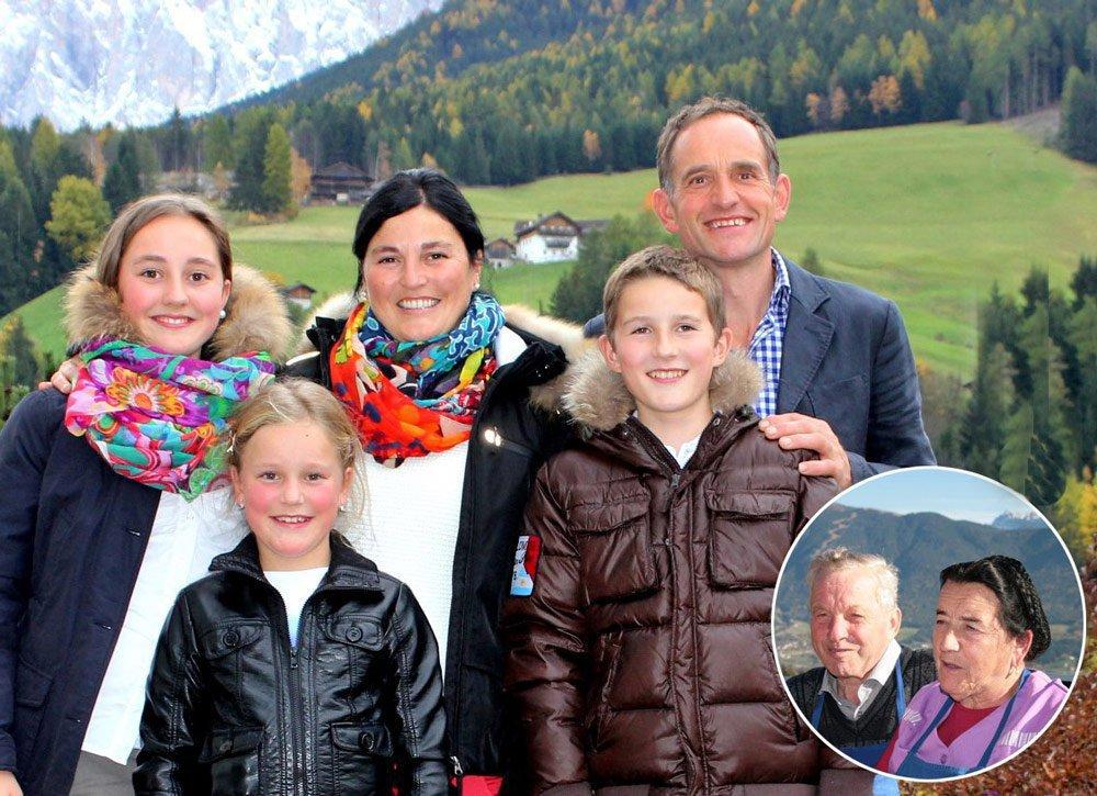 Familienurlaub auf dem Bauernhof - Der Stocknerhof in Brixen / Südtirol