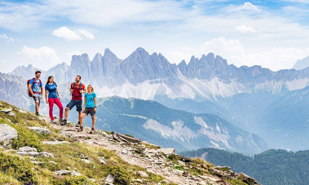 Wandern rund um Brixen - Jeden Tag lockt ein neues Ziel